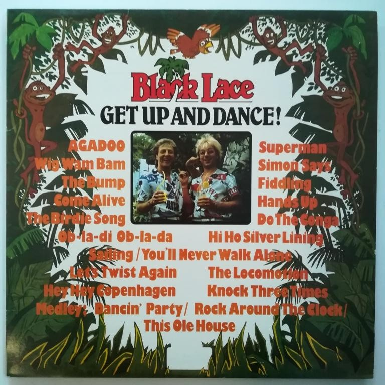 Black Lace - Get Up And Dance
