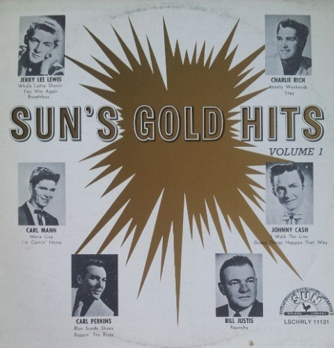 Various Artists - Suns Gold Hits Vol 1 Cash/perkins/lewis/rich Etc