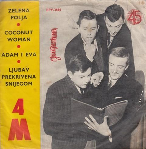 4 M - Zelena Polja/coconut Woman/adam I Eva/ljubav Prekrivena Snijegom