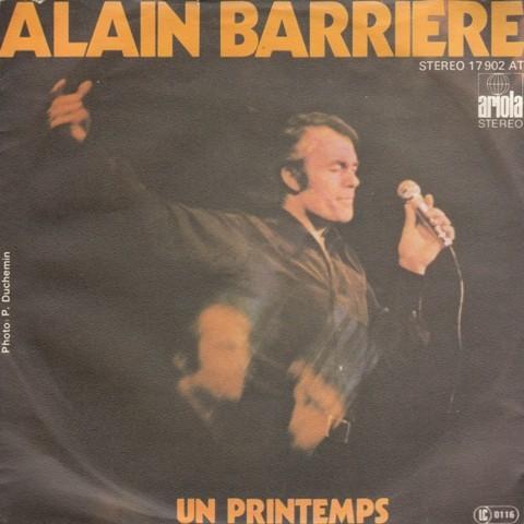 Barriere Alain - Un Printemps/quimporte