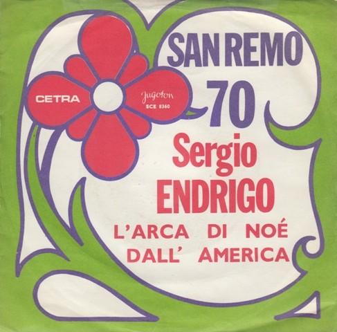 Endrigo Sergio - Larca Di Noe/dall America
