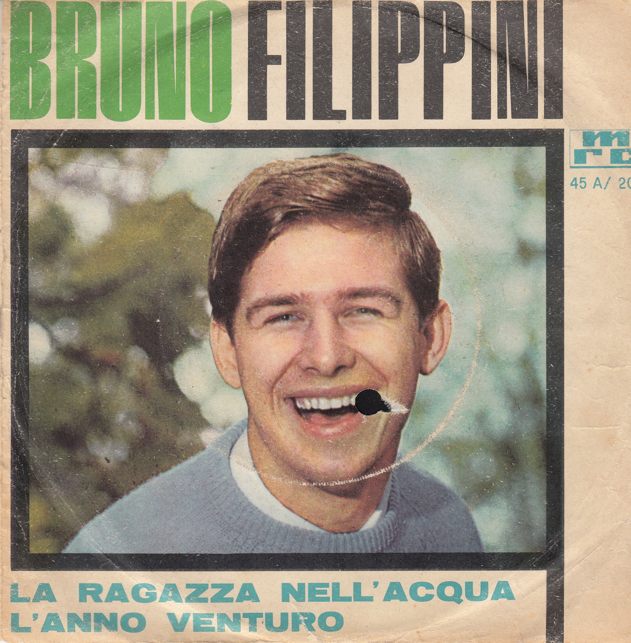 Filippini Bruno - La Ragazza Nellacqua/lanno Venturo