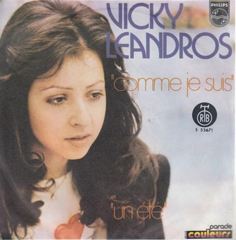 Leandros Vicky - Comme Je Suis/un Ete