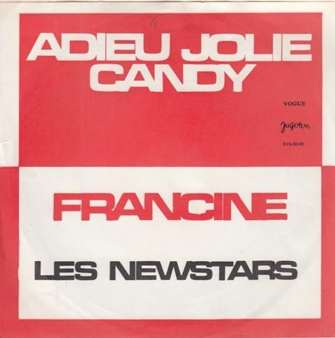 Michael Jean-Francois/les Newstars - Adieu Jolie Candy/francine