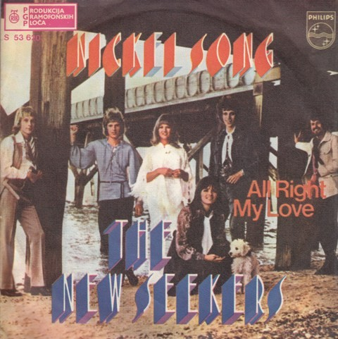New Seekers - Nickel Song/all Right My Love