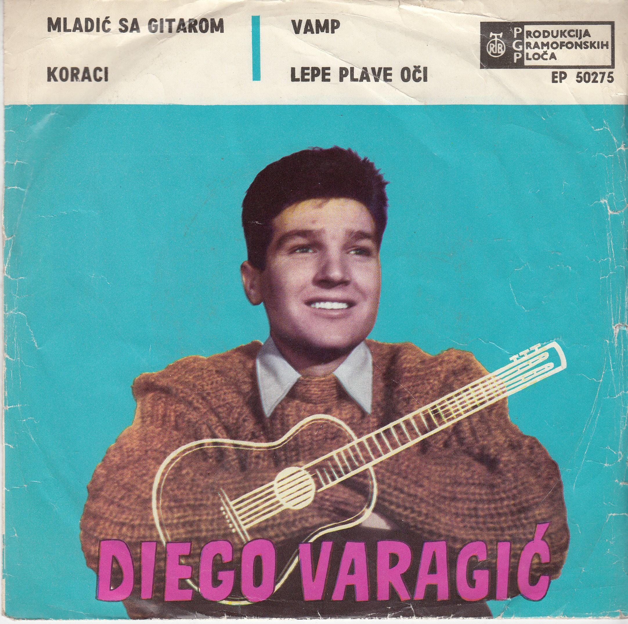 Varagic Diego - Mladic Sa Gitarom/koraci/vamp/lepe Plave Oci