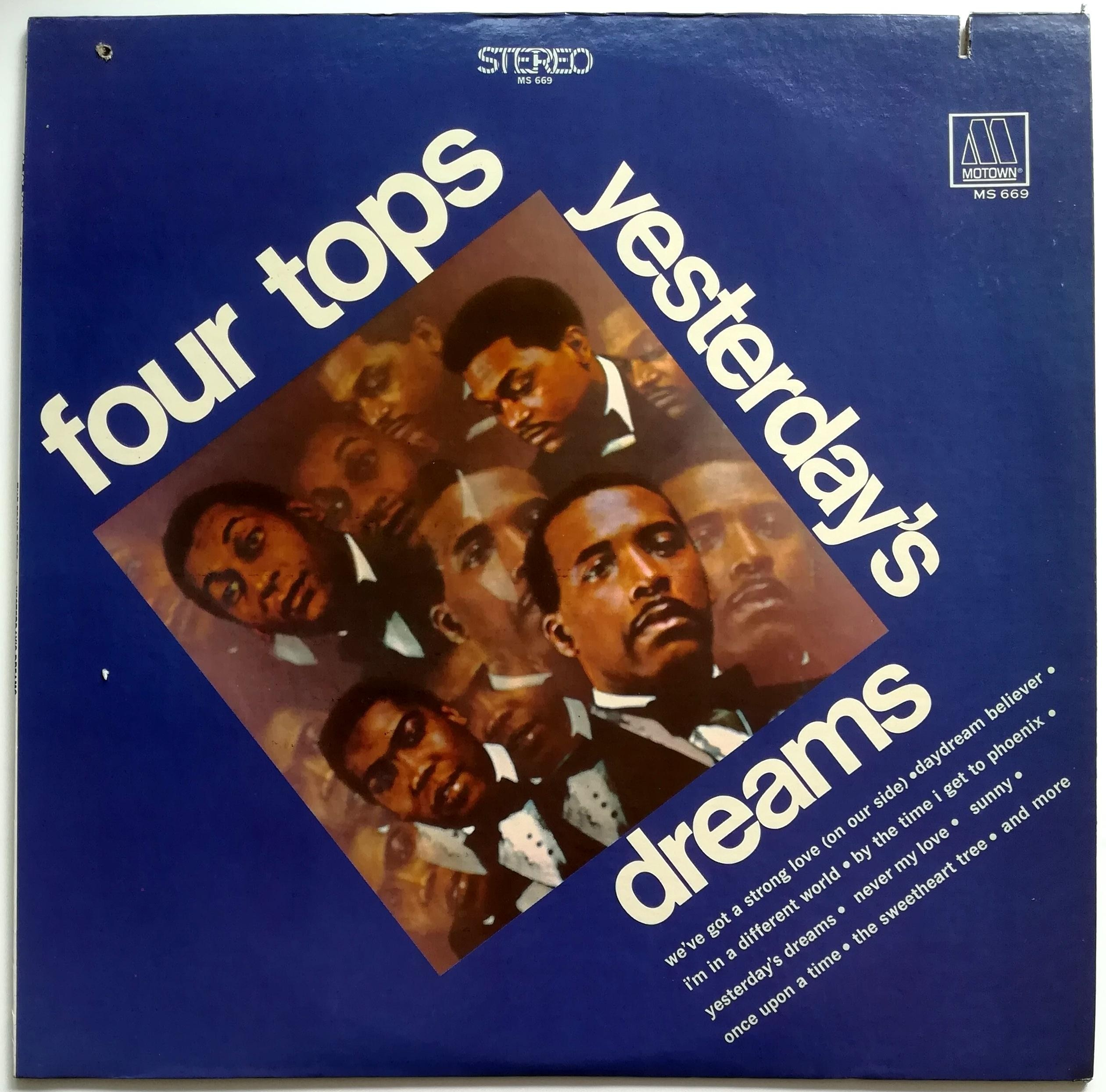 Four Tops - Yesterdays Dreams