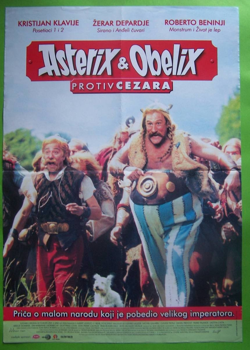 Asterix Obelix Protiv Cezara
