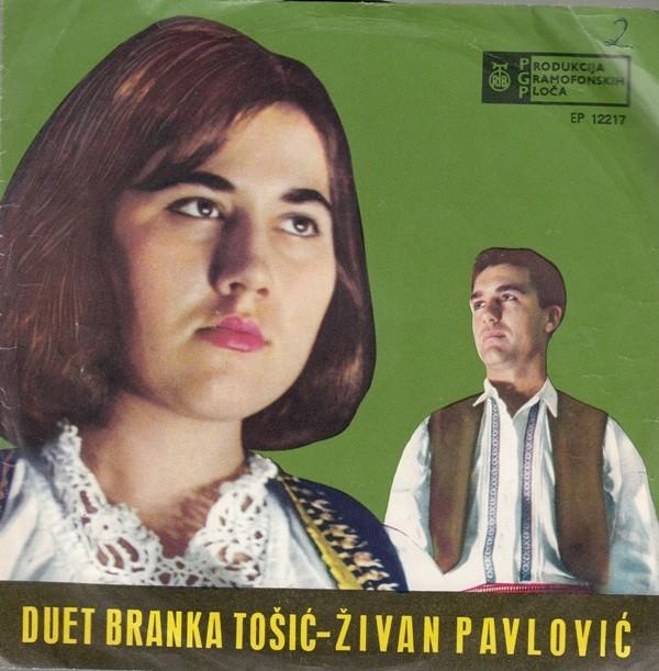 Tosic Branka Zivan Pavlovic - Svatovka/zeni Se Mili Sine Predraze/kad Sunce Jutrom Se Rodi/prolece Ide Ide Mesec Maj