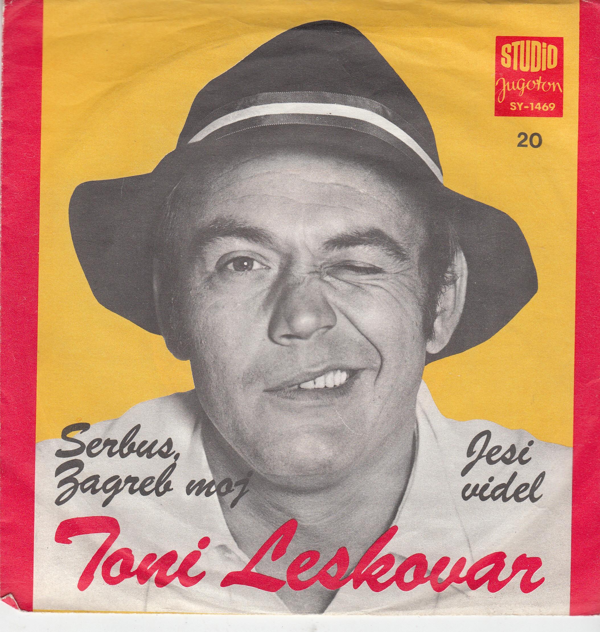 Leskovar Toni - Serbus Zagreb Moj/jesi Videl