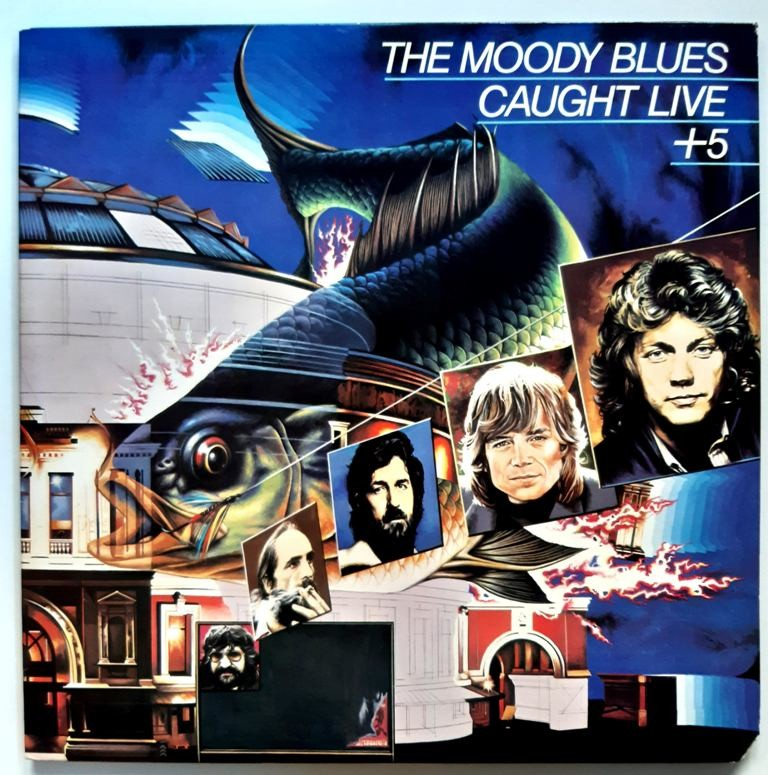 Moody Blues - Caught Live + 5