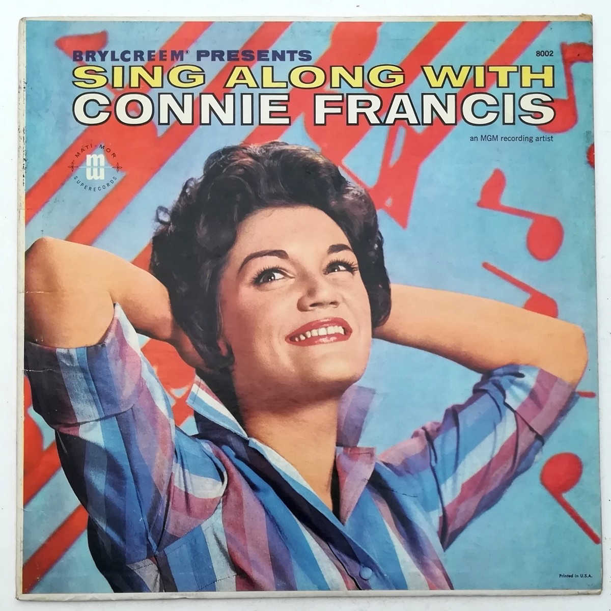 Francis Connie The Jordanaires - Sing Along With Connie Francis