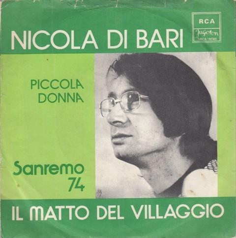 Di Bari Nicola - Il Matto Del Villaggio/piccola Donna