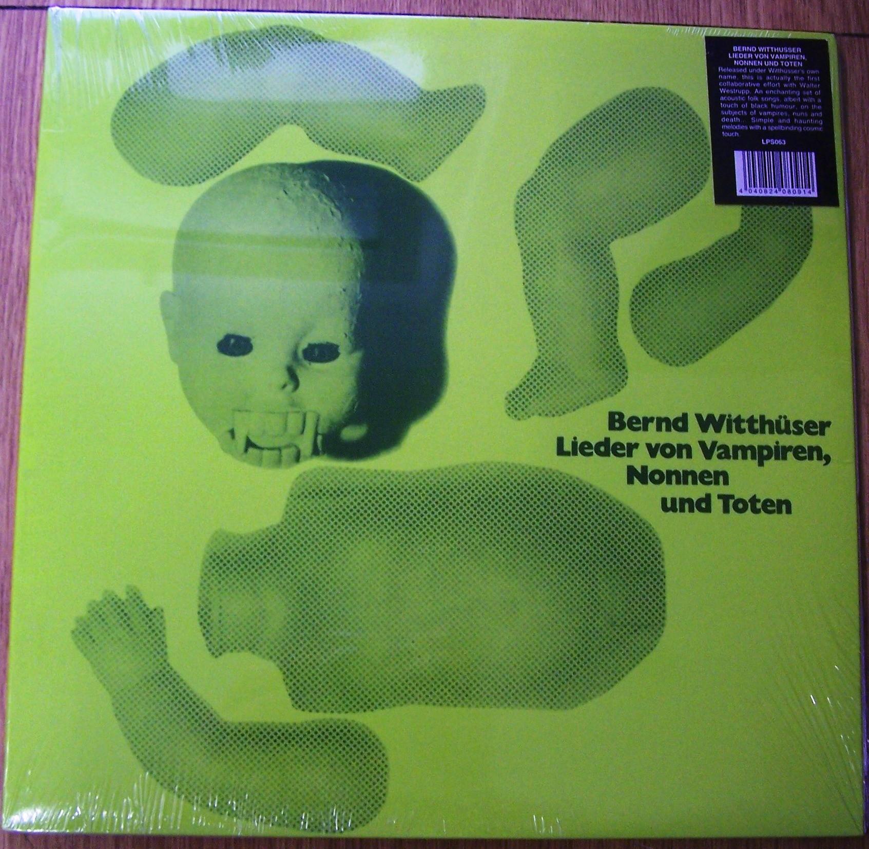 Witthuser Bernd - Lieder Von Vampiren Nonnen Und Toten