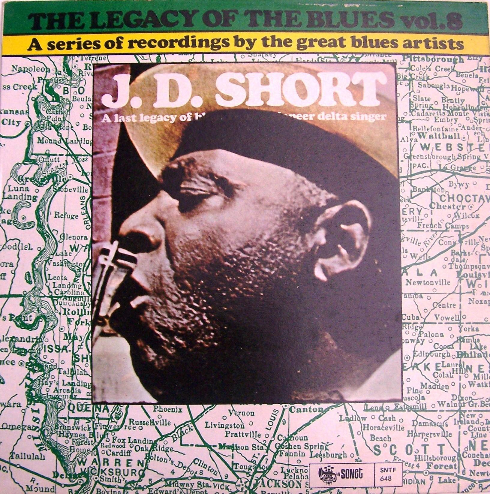 Short Jd - Legacy Of The Blues Vol 8