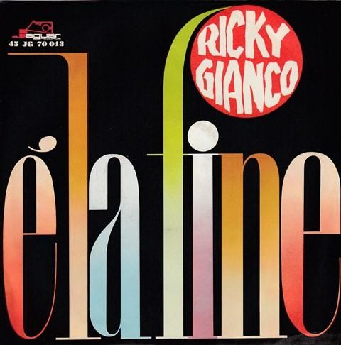 Gianco Ricky - Cuore Di Negro/ela Fine