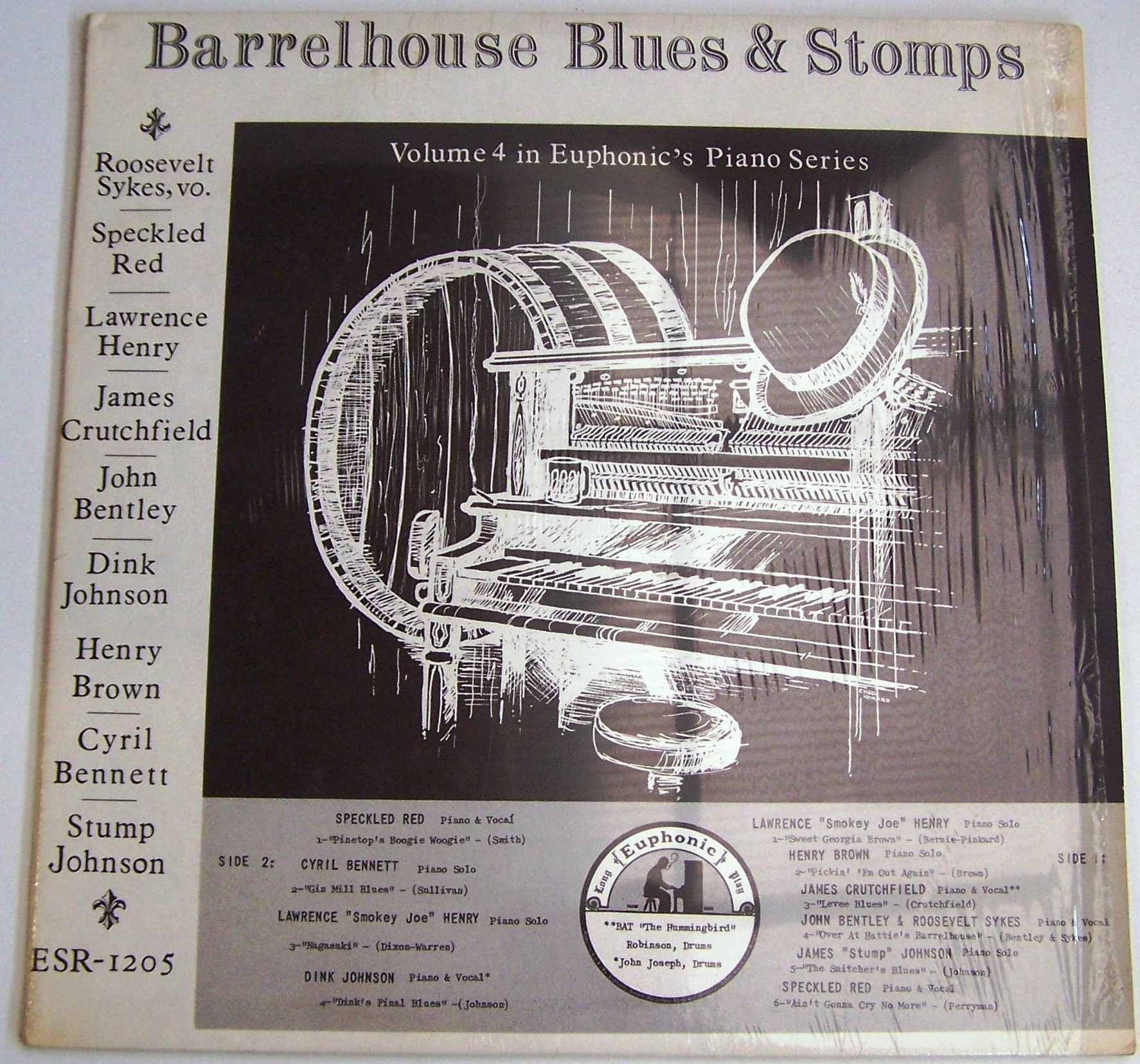 Various Artists - Barrelhouse Blues Stomps Vol 4 Roosevelt Sykes Speckled Red Lawrence Henry Etc