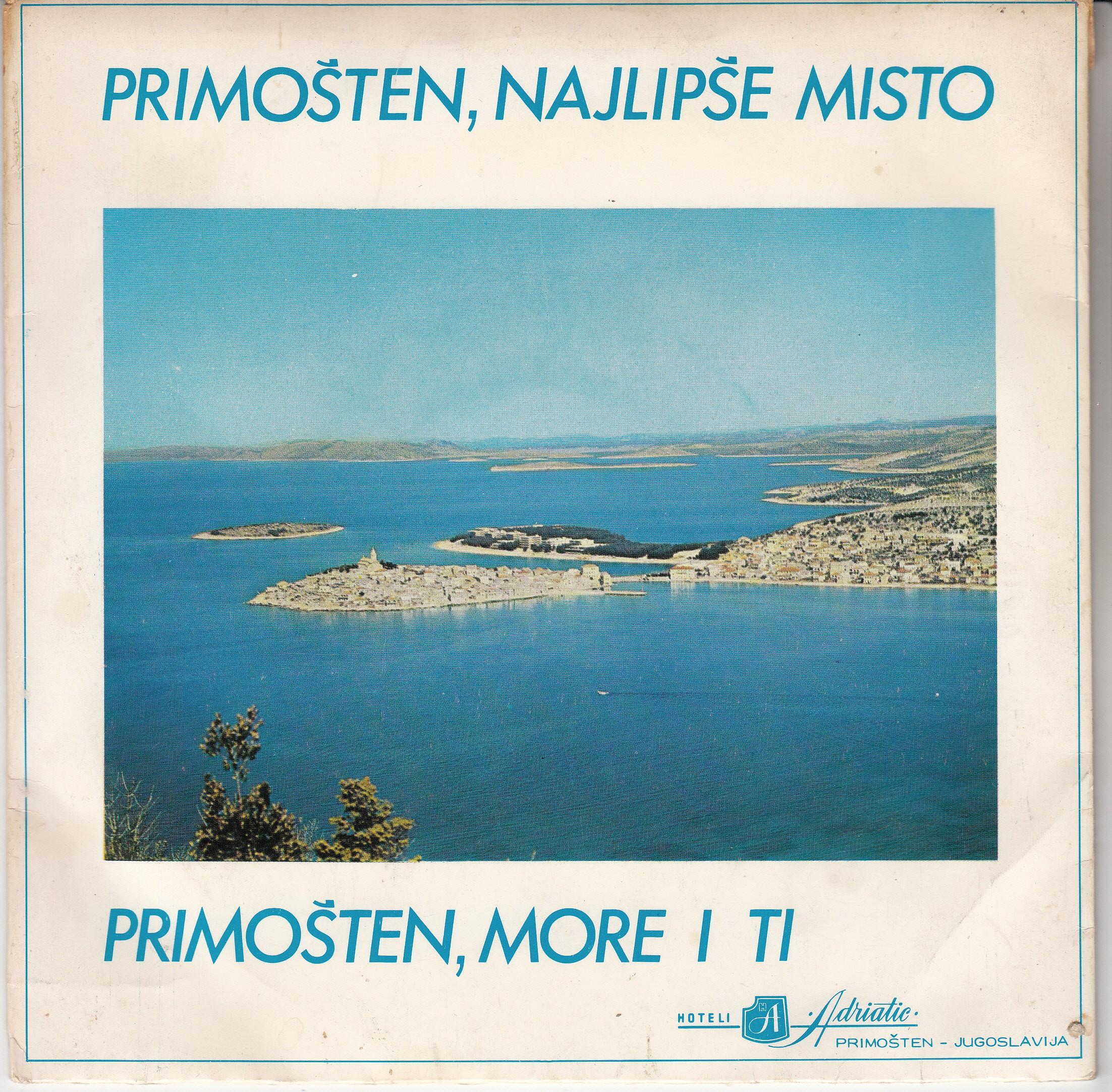 Basletic Zlatko - Primosten Najlipse Misto/primosten More I Ti