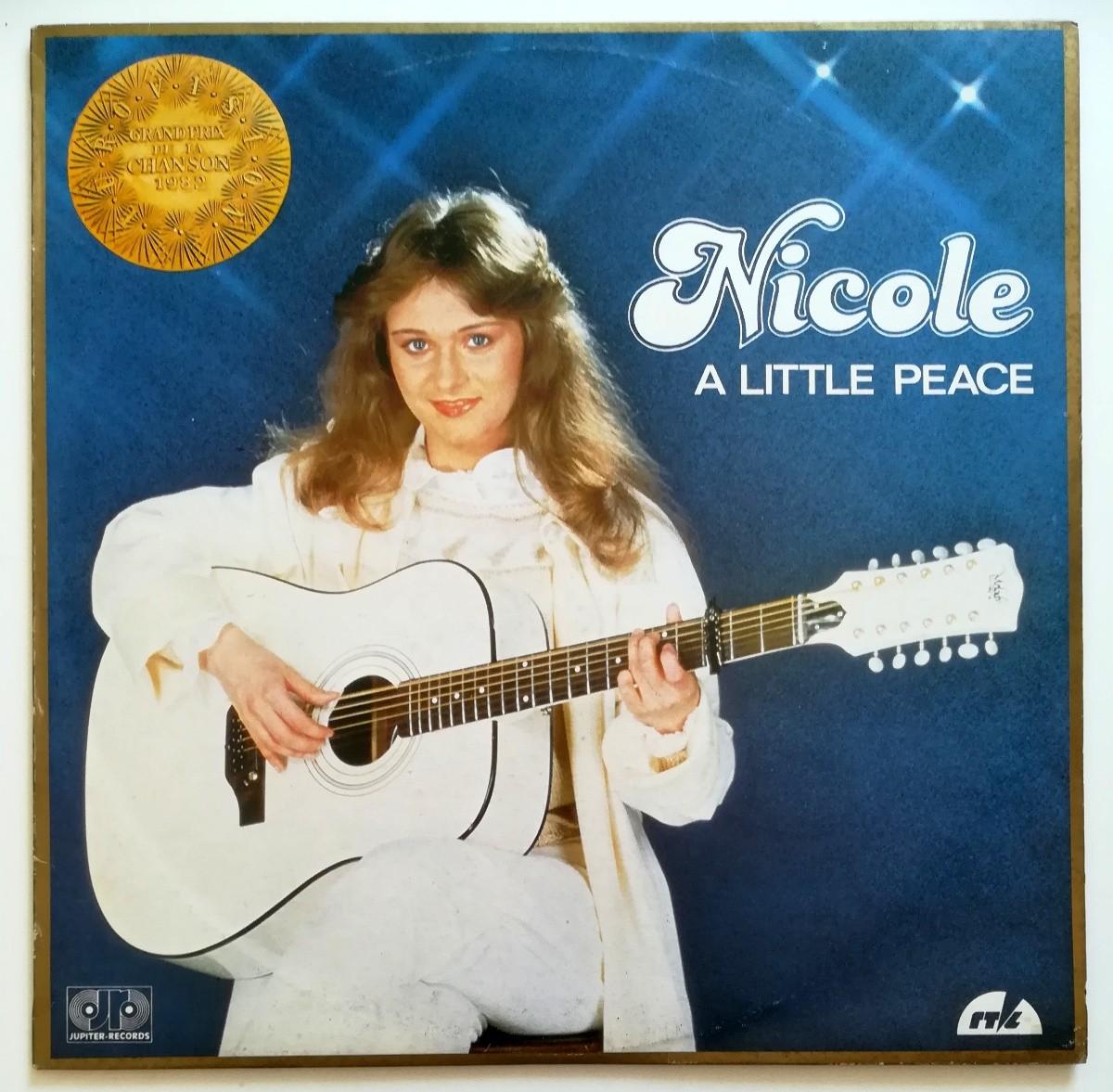 Nicole - A Little Peace - Grand Prix De La Chanson 1982
