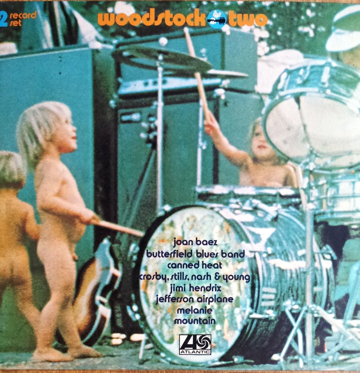 Soundtrack - Woodstock Two Incl Joan Baez Butterfield Blues Band Jimi Hendrix Mountain Etc