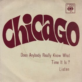 Chicago - Does Anybody Really Know What Time It Is/listen
