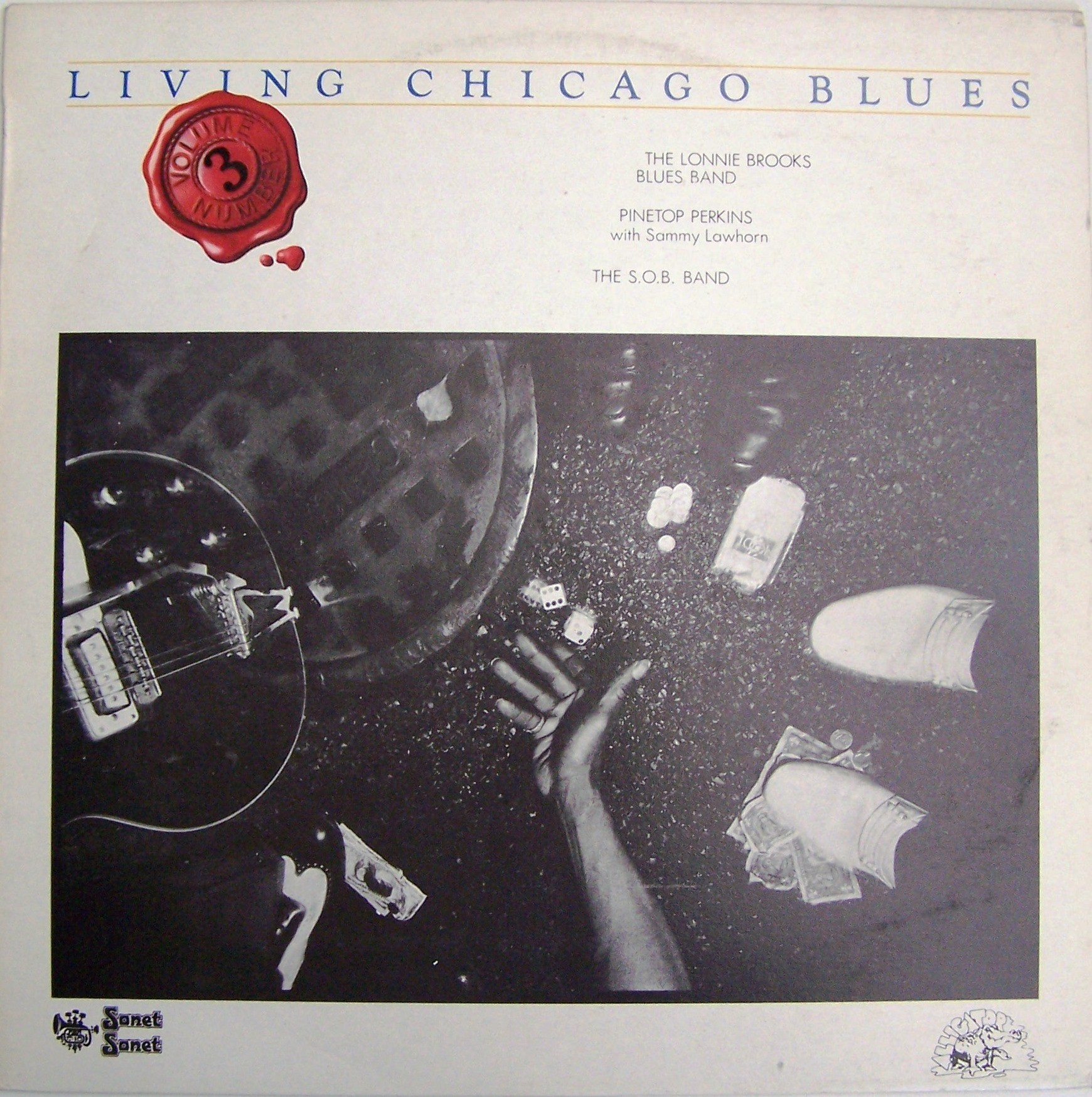 Various Artists - Living Chicago Blues Vol 3 Lonnie Brooks Band/pinetop Perkins/sob Band