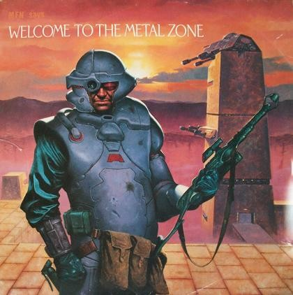 Various Artists - Mfn Says Welcome To The Metal Zone Rio/waysted/rogue Male Etc