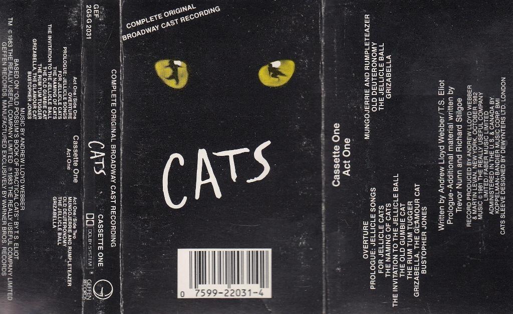 Various Artists - Cats - Broadway Cast Recording