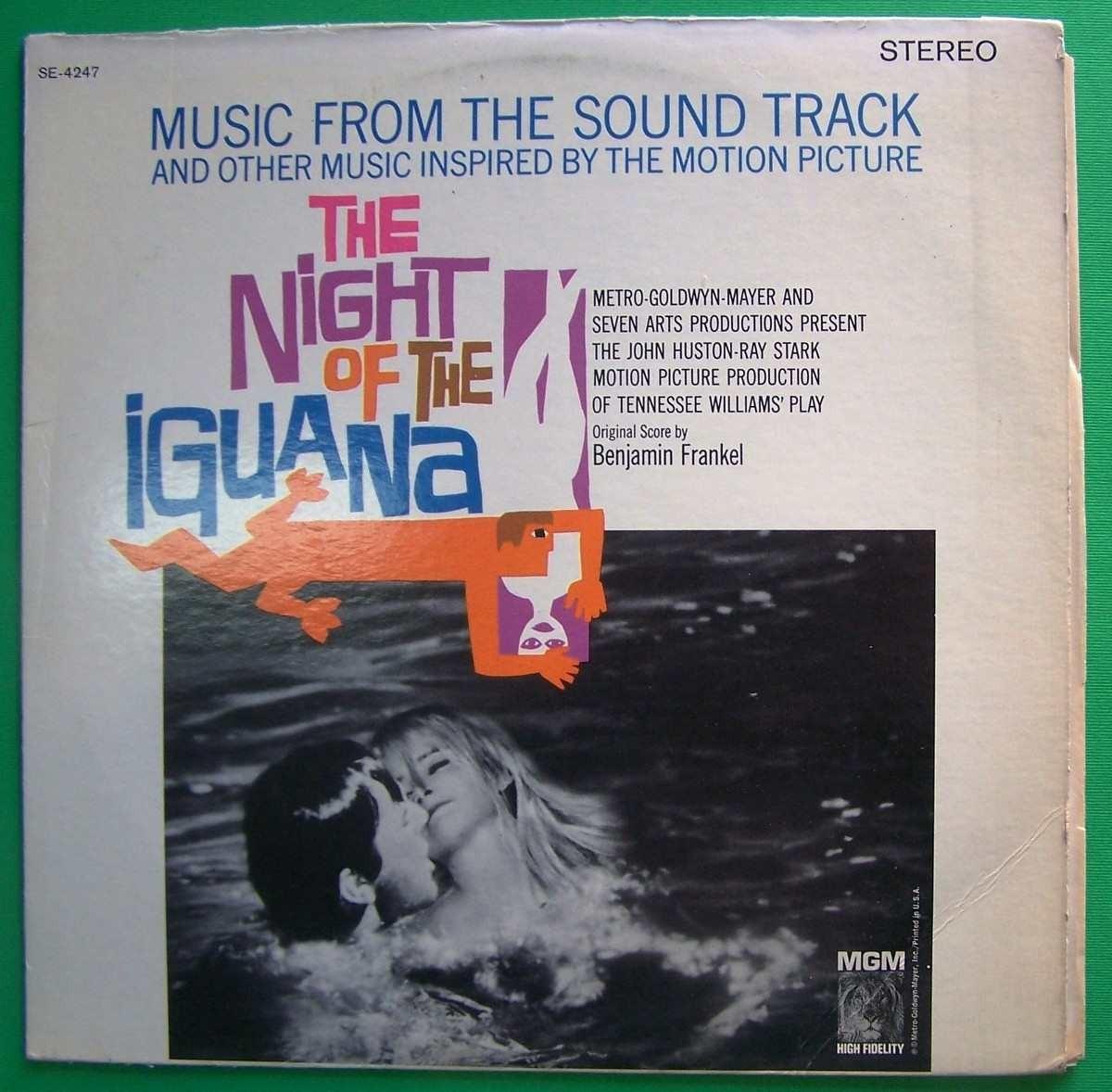 Various Artists - Night Of The Iguana Music By Benjamin Frankel