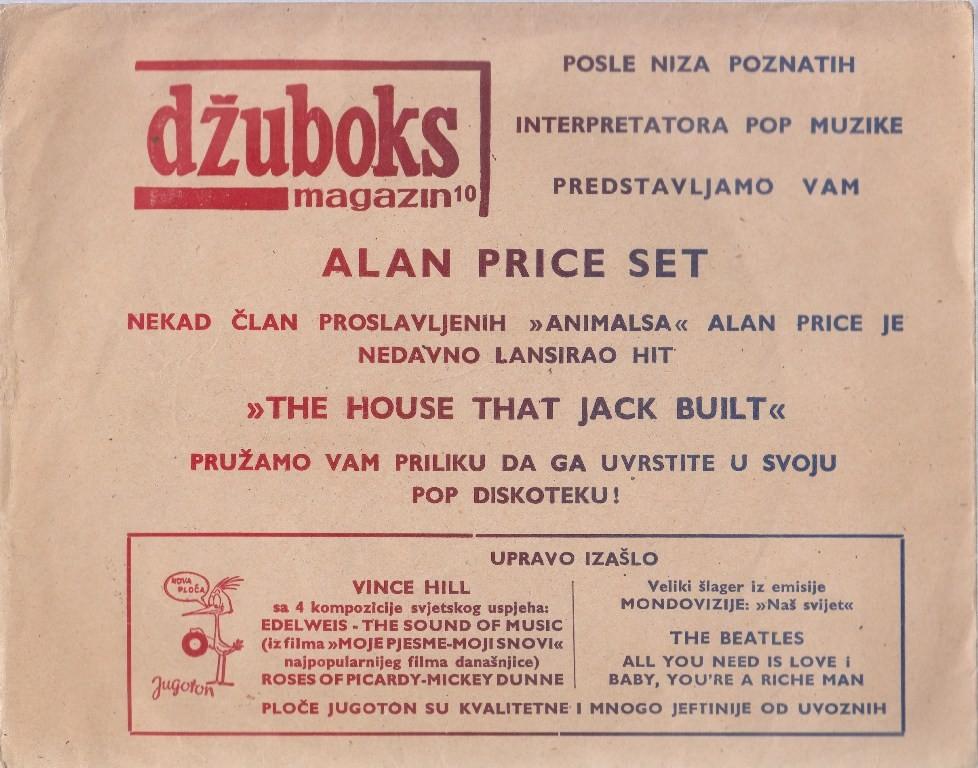 Alan Price Set - House That Jack Built Kuca Koju Je Sagradio Dzek