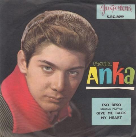 Anka Paul - Eso BesoThat Kiss/give Me Back My Heart