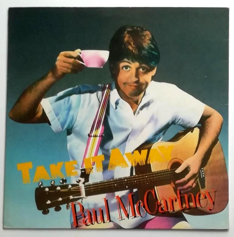 Mccartney Paul Ex-The Beatles - Take It Away/ill Give You A Ring Dress Me Up As A Robber