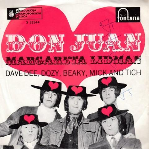 Dave Dee Dozy Beaky Mick Tich - Don Juan/margareta Lidman