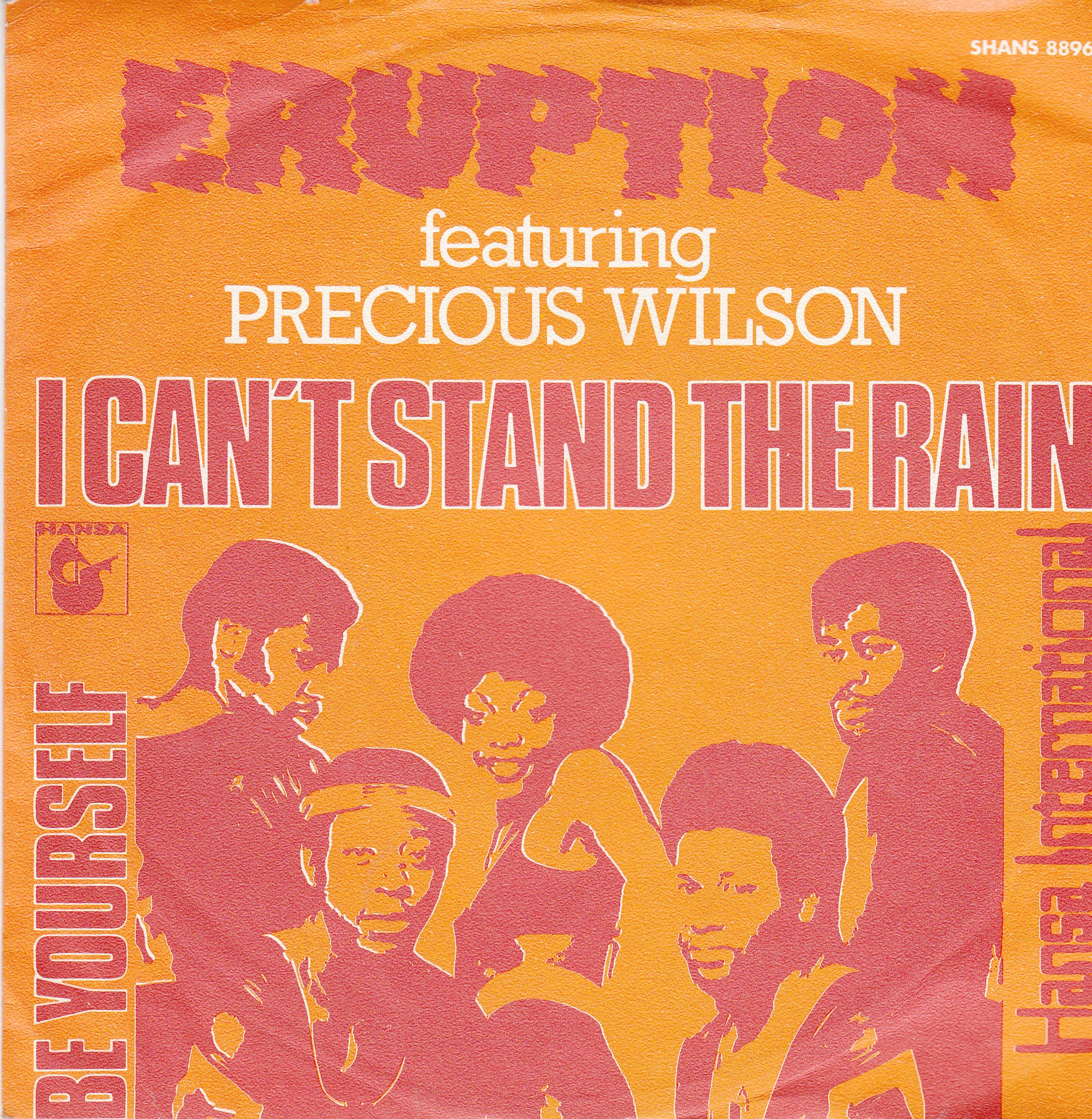 Eruption Precious Wilson - I Cant Stand The Rain/be Yourself
