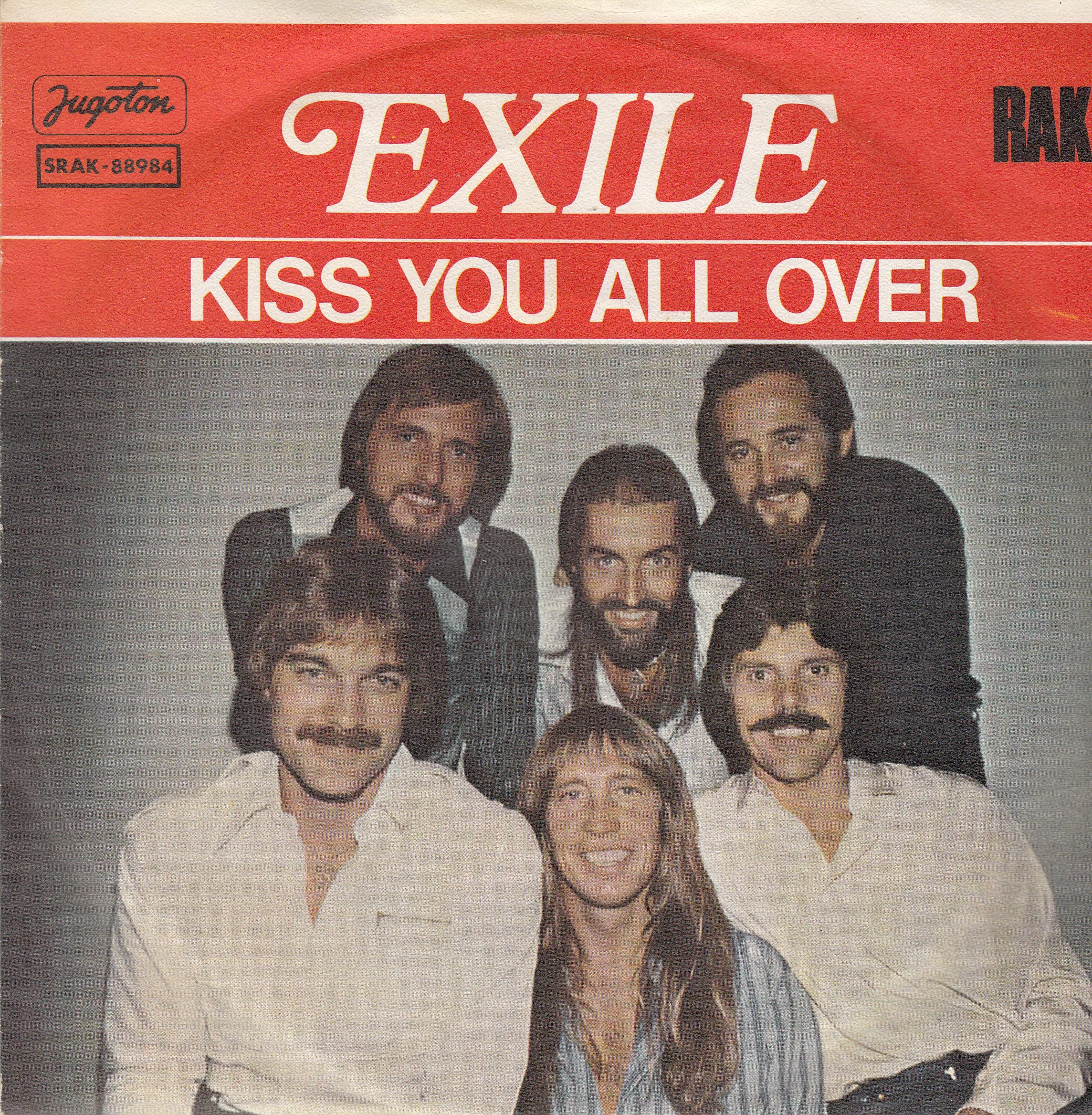 Exile - Kiss You All Over/theres Been A Change