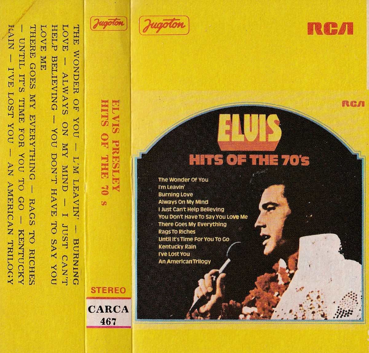 Presley Elvis - Hits Of The 70s
