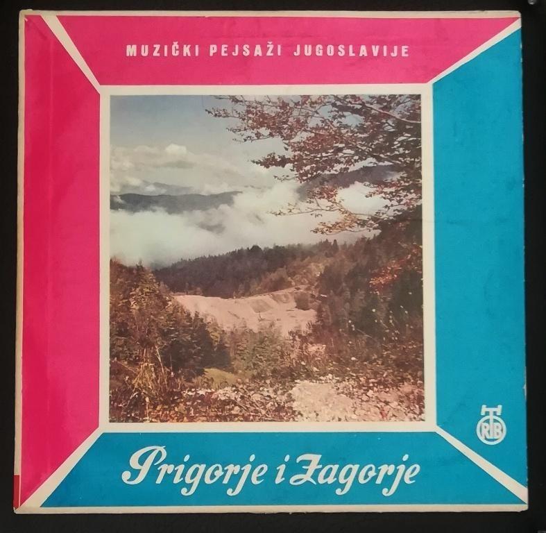 Narodna Druzina Rt Zagreb - Prigorje I Zagorje - Muzicki Pejsazi Jugoslavije