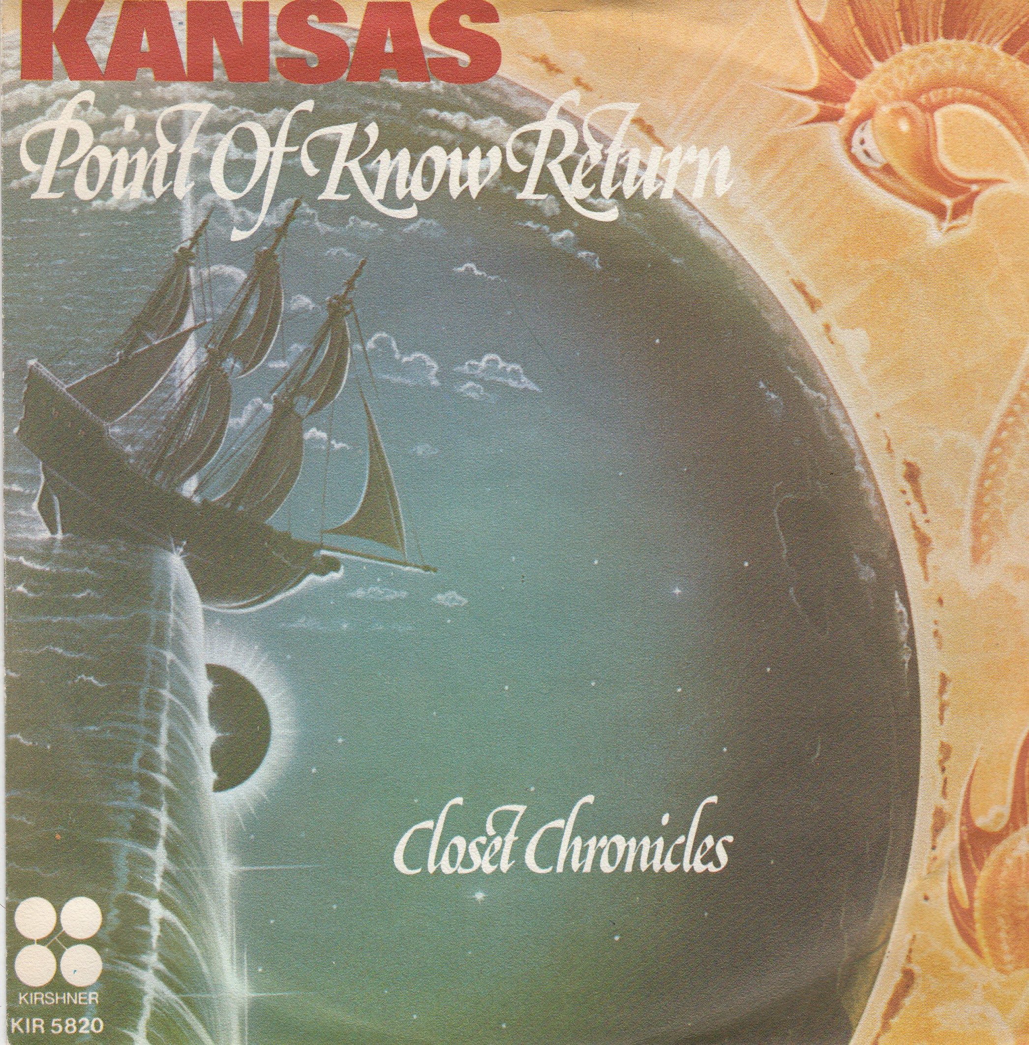 Kansas - Point Of Know Return/closet Chronicles