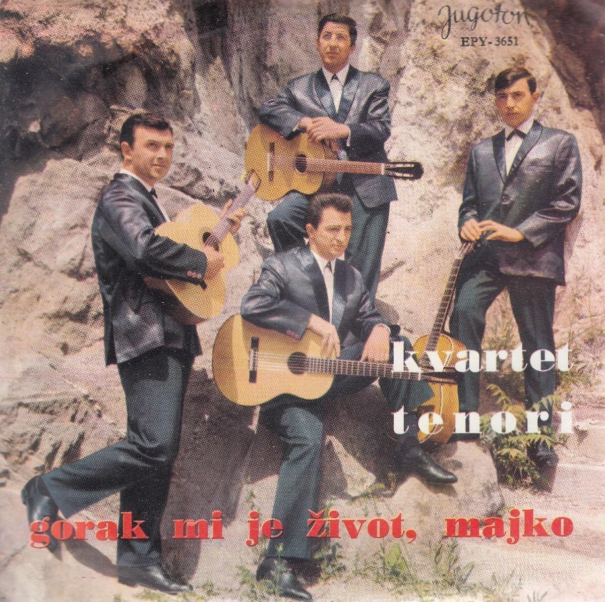 Kvartet Tenori - Gorak Mi Je Zivot Majko/sa Tugom U Srcu/oprosti/mesecev Sjaj