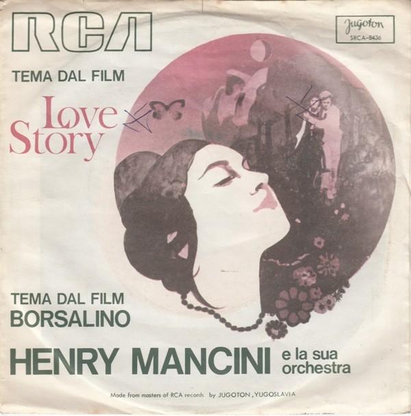 Mancini Henry His Orchestra - Love Story/borsalino