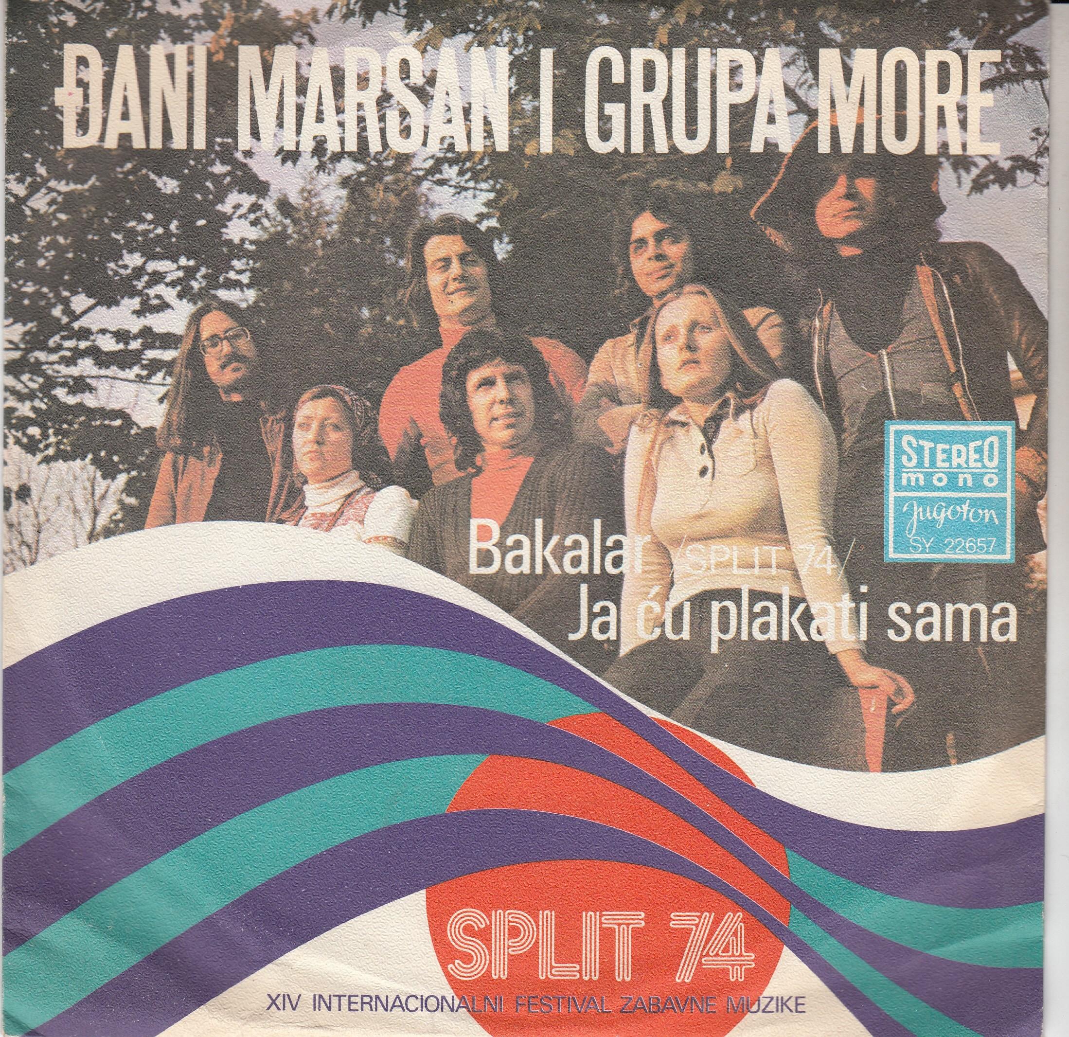Marsan Djani Grupa More - Bakalar/ja Cu Plakati Sama