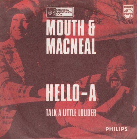 Mouth Macneal - Hello-A/talk A Little Louder