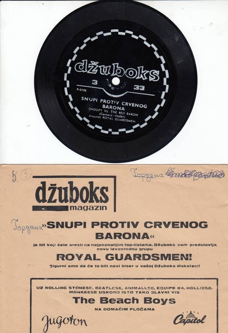 Royal Guardsmen - Snupi Protiv Crvenog Barona - Snoopy Vs The Red Baron