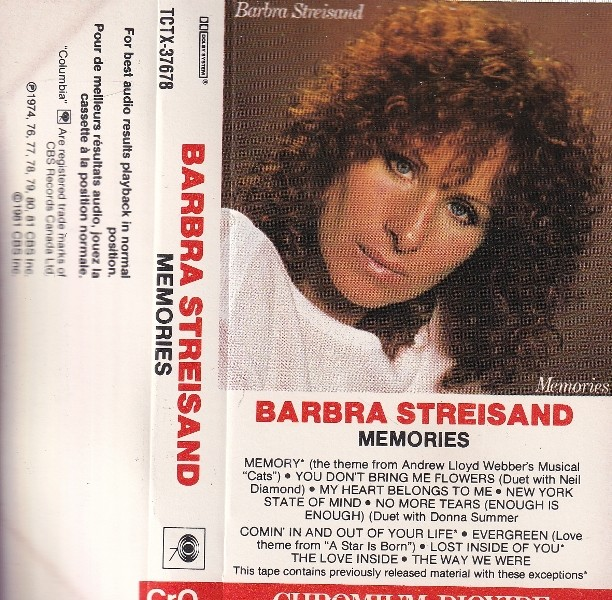 Streisand Barbra - Memories