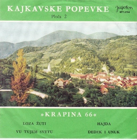 Prelcec Zvonimir/nada Putar-Gold/matija Krizmanovic/franjo Petrusanec Radek Brodarec - Loza Zuti/hajda/vu Tujem Svetu/dedek I Unuk