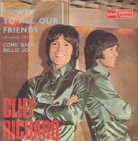 Richard Cliff - Power To All Our Friends/come Back Billie Jo