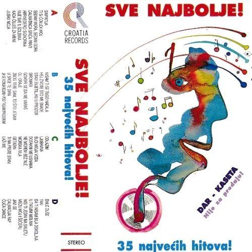 Various Artists - Sve Najbolje - 35 Najvećih Hitova - Dupla Kazeta