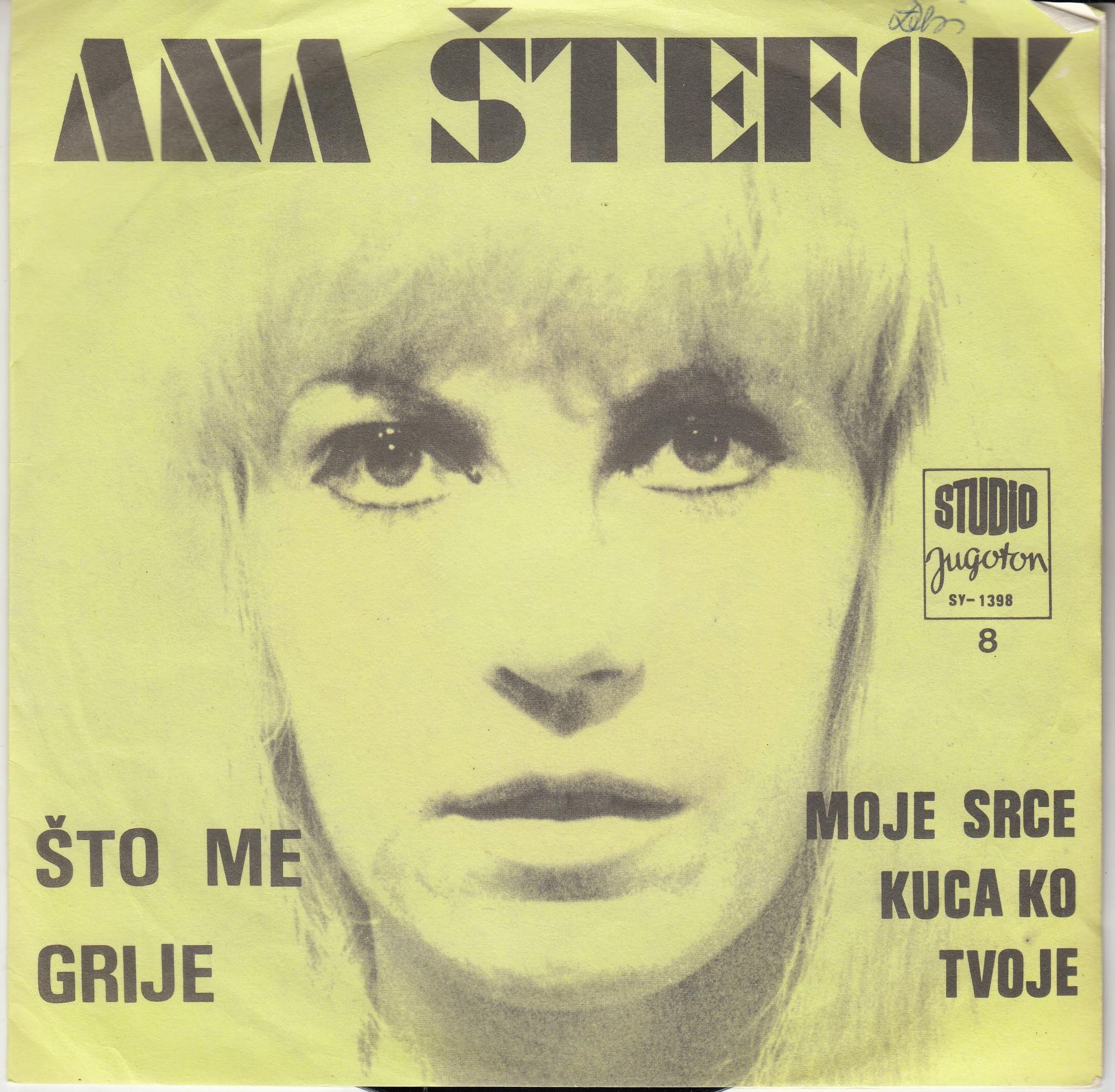 Stefok Ana - Sto Me Grije/moje Srce Kuca Ko Tvoje