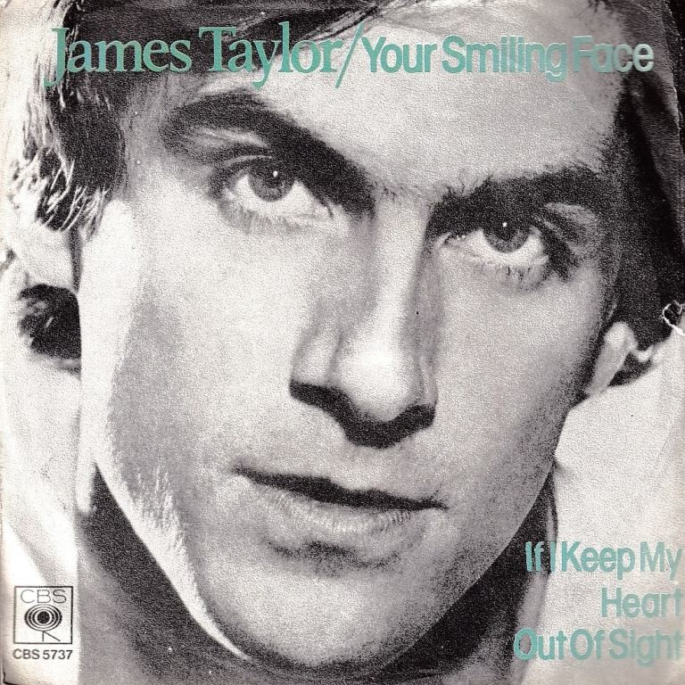 Taylor James - Your Smiling Face/if I Keep My Heart Out Of Singht