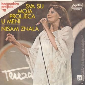 Kesovija Tereza - Sva Su Moja Proljeca U Meni/nisam Znala